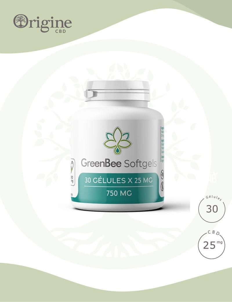 Gélules CBD 25mg