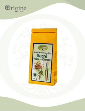 Graines de chanvre grillées sucrés 100 g Bio