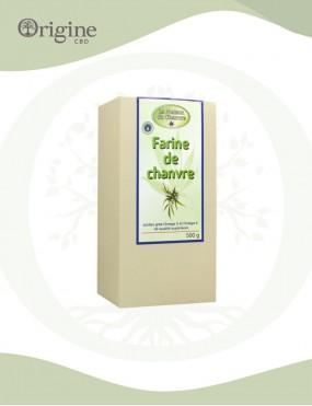 Farine de graines de chanvre 500 g Bio