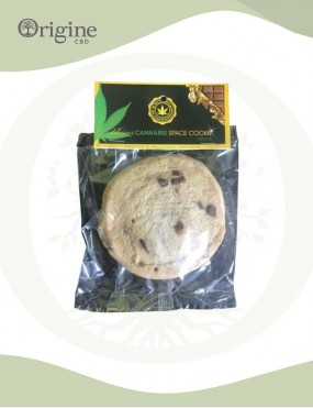 Cookie Space Cake saveur chocolat vanille CBD 2 %