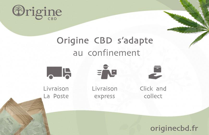 Origine CBD S'adapte Au Confinement