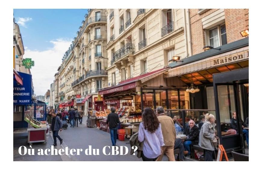Où acheter du CBD ?